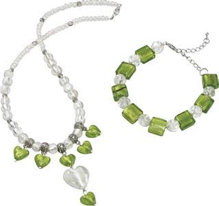 Trendline grün-weiß