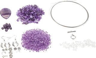 Trendline lila-silberfarben