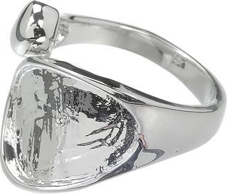 "DeCoRe Ring ""Ring, Schlange"" DeCoRe silberfarbe"