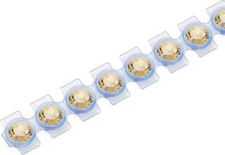 Nachfüllsteine für Textil easy Crystal Ø 2,8 mm light topaz