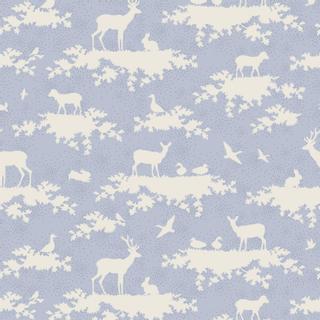1 x 1.10 m light blue patterns
