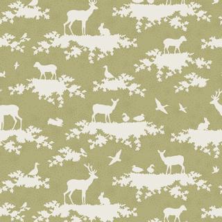 5 x 1.10 m green pattern