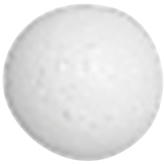 Styrofoam Ball Set Ø 3 cm white