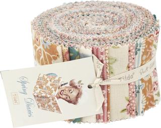 Tilda Stoff-Mix Fabric Roll Spring Diaries 6 x 110 cm bunt gemustert