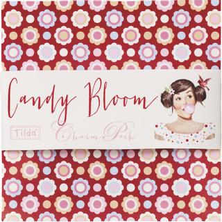 "Tilda Stoff-Mix Charmpack ""20 verschiedene Muster"" Limited Edition Candy Bloom 12,5 x 12,5 c"